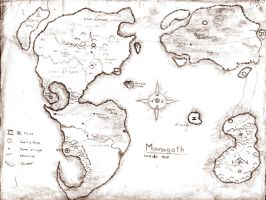 Map of Maragoth by Bareck