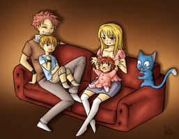 Sofa family by AnnMY