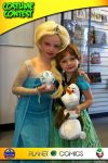 Planet X Comics Halloween Comicfest Frozen by Jasong72483