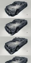 Postapo cars - Limousine by hunterkiller