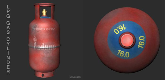 Gas Cylinder by Movlance