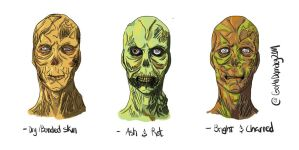 Fallout Ghouls by GoMaDamacy