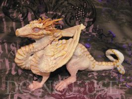 White Dragon Sculpture by Ramala