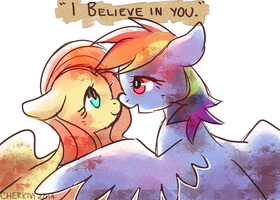 believe in me who believes in u by Cherkivi