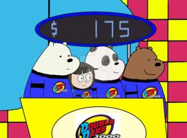 The 3 bears and Chloe on Double Dare 2000 by xXflameboyXx