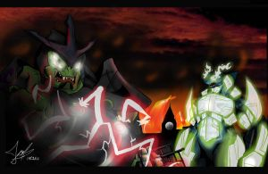 Kaiju Wars: Battle at London part 2 by Blabyloo229