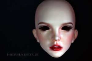 Faceup Commission: Supia Ariel NS by sherridevon
