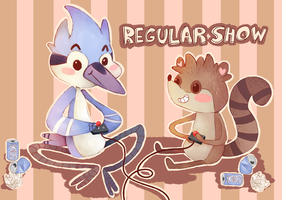 Regular Show by MindlessFrappe