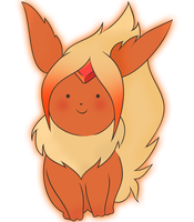 Flame Princess: Flareon by YouthCat