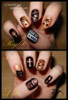 Nail Art: G-Dragon by Delinlea