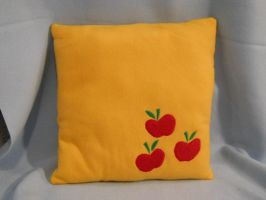 MLP: FiM Applejack Cutie Mark Pillow by kmrsworld734
