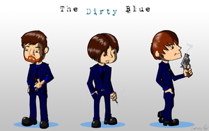 The Dirty Blue by hyperboy