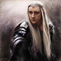 Thanduil, King of Mirkwood by RussianVal