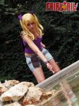 Lucy Heartfilia cosplay - Fairy Tail by onlycyn