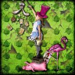 Alice in Wonderland by martavaneck