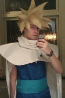 Gohan super saiyan 1 cosplay by XRallemangafreak