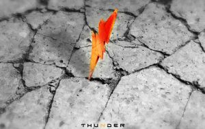 Thunder HD Wallpaper by lokahore