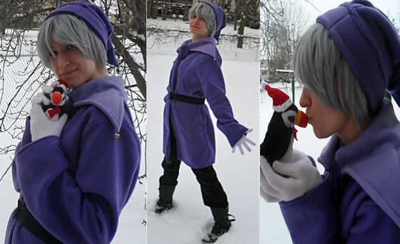 APH Cosplay: Elf!Iceland Collage by Noellisty