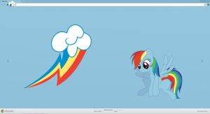 Rainbow Dash Theme by Robin-Huzell