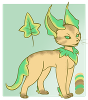 [OPEN] Adopt: Leafeon by MiqotesosAdopts