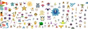 All 151 Kanto Pokemon, by ZXY8 by zxy8