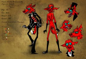 Alister Reference Sheet by ceallach-monster