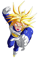trunks_ssj by el-maky-z