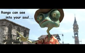 Rango sees you... by blucille