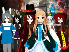 Alice in Wonderland by BanHime