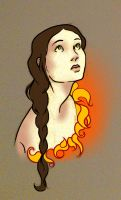 Katniss sketch by Allam