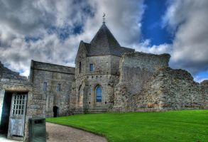 Inchcolm Abbey IV by adischordantrhyme