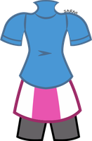 Rainbow Dash-Equestria Girls-Costume-Vector-Back by SarahStudios11