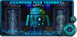 Steampunk Fear Foundry Live Wallpaper for Android by catbones