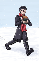 Snow Ishimaru by Aissu