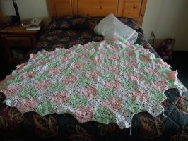 Coverlet In Progress by superpower-pnut