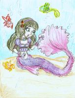 Lydia: mermaid redew by Coraline-176