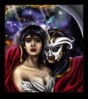 Phantom of the Opera-- Space by Sierryberry