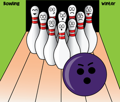 Bowling by winter by winter99