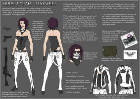 Rail Maxwell - DeviantDead Ref by Lomebririon