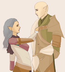 Faded (SolasxLavellan) DA:I by Orchid-of-Hope