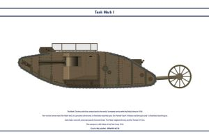 Tank Mk I Male by WS-Clave