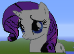 Rarity on Minecraft by 20PercentCoolerBrony
