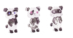 Panda adoptables! [Open] by Candhies