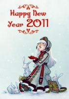 Happy New Year 2011 by Nephyla
