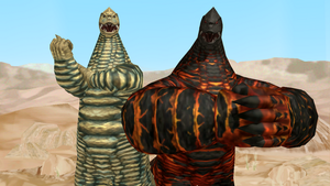 [MMD DL] Ultra Kaiju - Red King + EX Red King by BigJohnnyCool