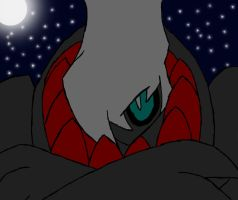 .:Darkrai in Darkness:. by KRd1st
