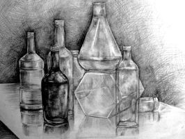 still life 'Bottles' 2 by taylorweaved