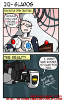 GlaDOS by BrokenTeapot