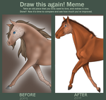 Draw this again - MEME by blackroseofsadness