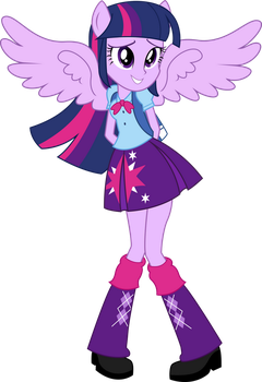 Equestria Girls  Princess Twilight Sparkle By Thes by Alexutza3333